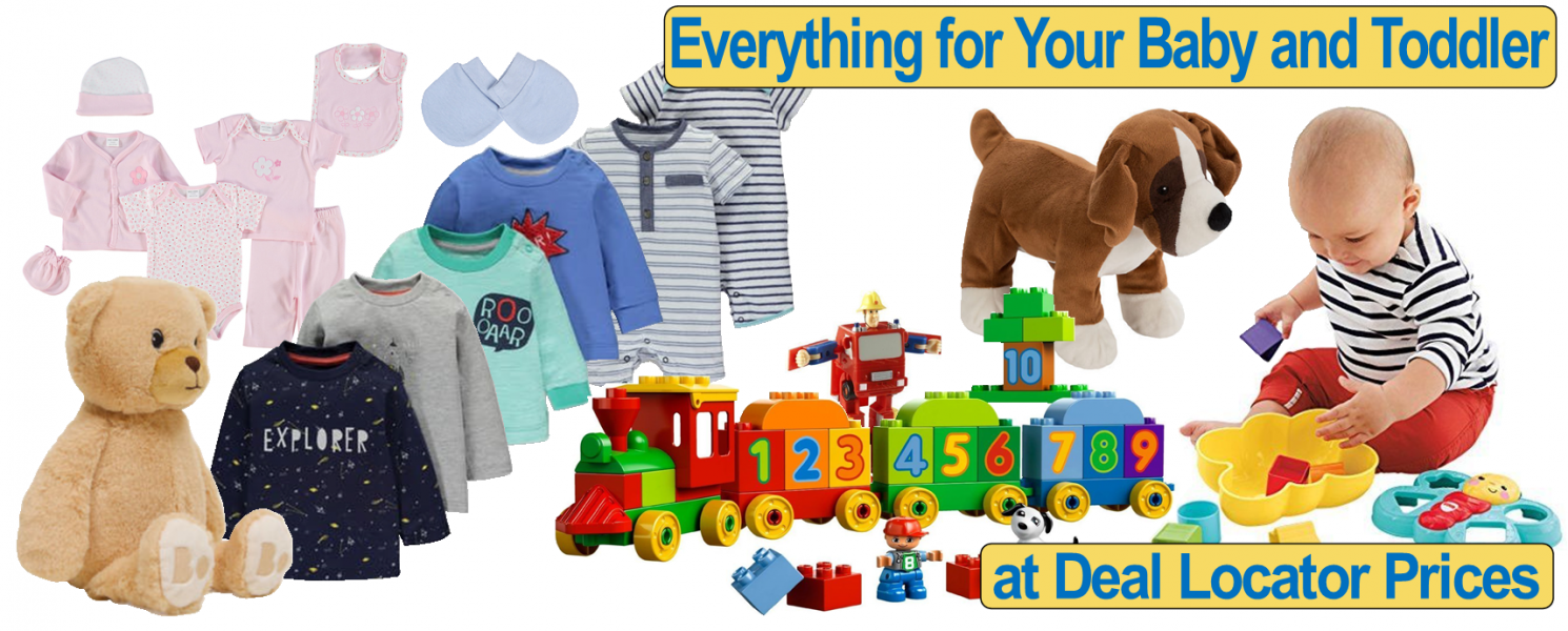 Shopping Deals on Baby and Toddler Products