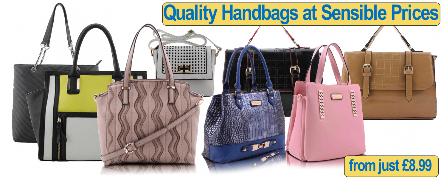 Shopping Deals on Quality Handbags at Sensible Prices